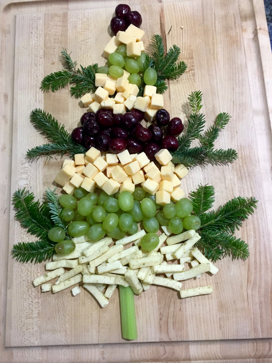 Christmas Dinner Cheese Platter